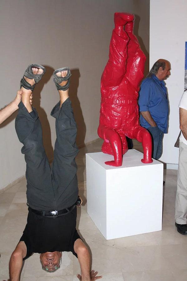 פסל בן גוריון באוניבסיטת בן גוריון בנגב - האמן רפאל מיימון