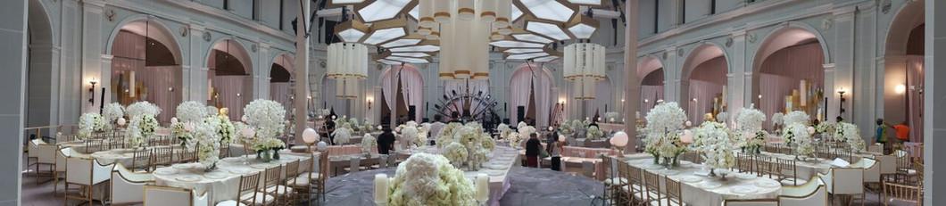 תפאורה לחתונה יוקרתית