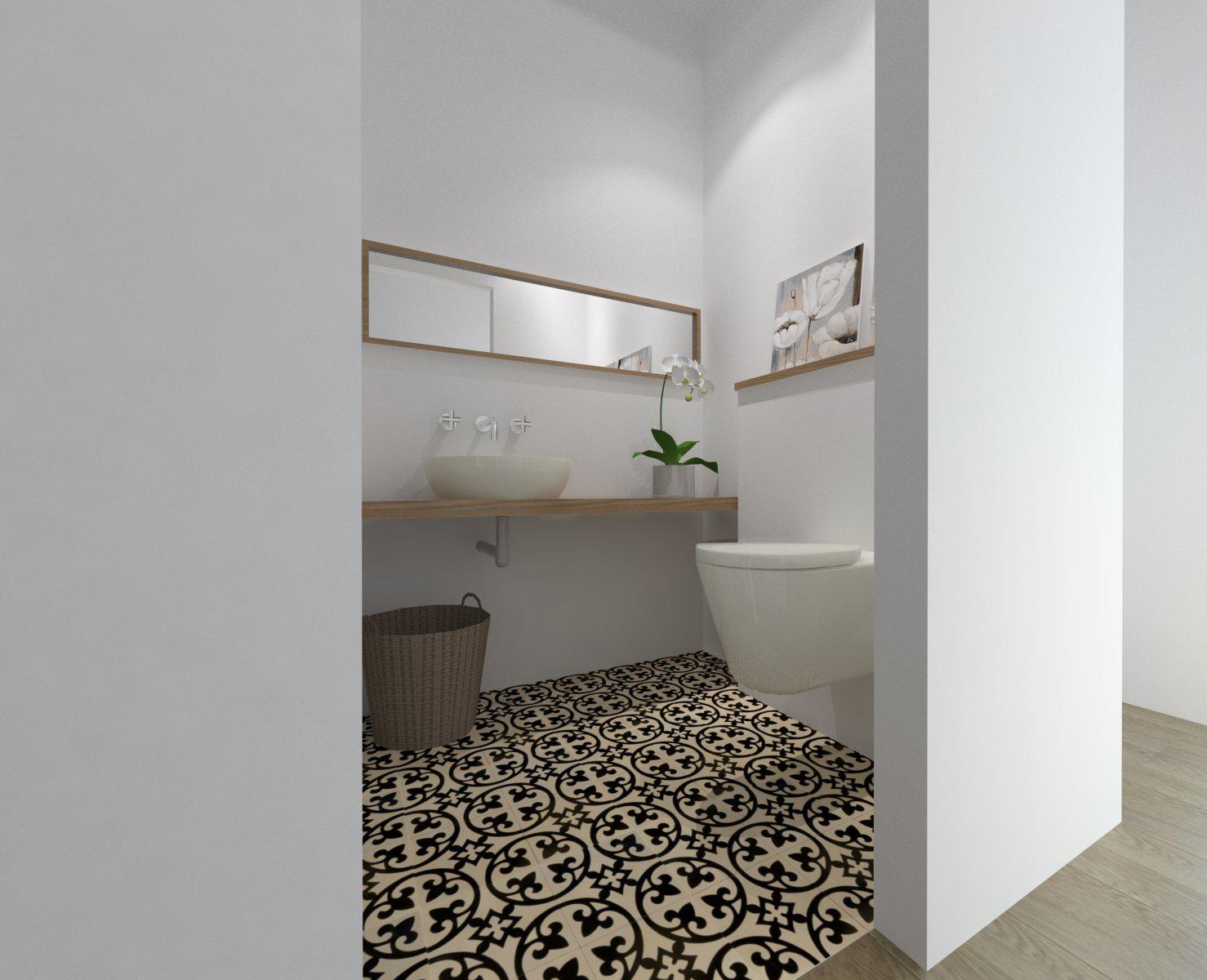 הדמיה - חדר אמבטיה