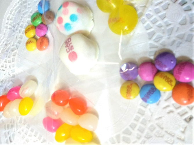 Calling all Candy Shops! Customize your candy with a Cake Stock Food printer