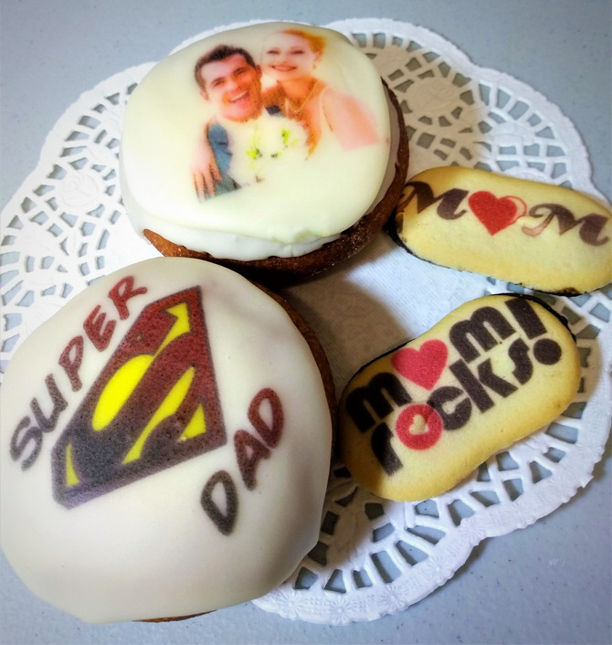 Milan Cookies for Mom,Donuts for Dad,Wedding donuts instead of cake!