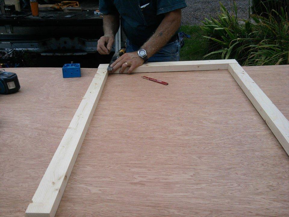 Making custom door