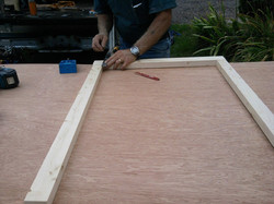 Making custom door