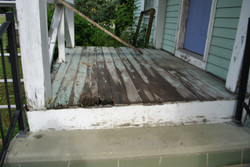 Porch repair