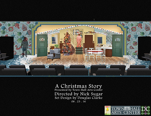 Scenic Design | Freelance | DC Design | A Christmas Story th...