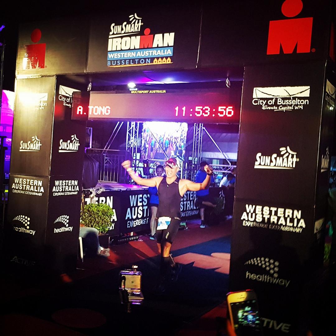Ironman Western Australia Finishing Line