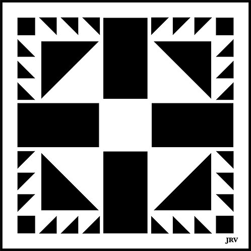 Barn Quilt Tiles