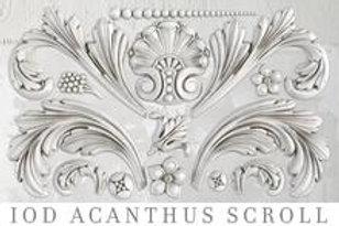 """Acanthus Decor Mould 6""""x10"""""""