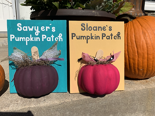 Personalized Pumpkin Patch Kits
