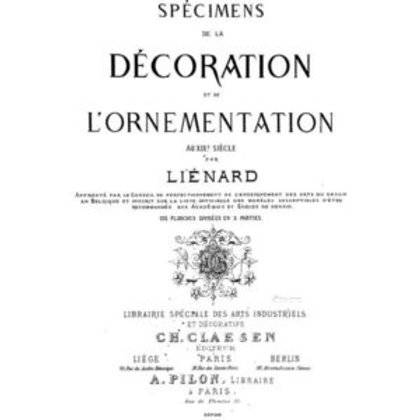 "First Generation: Specimen decor transfer 24x36"""