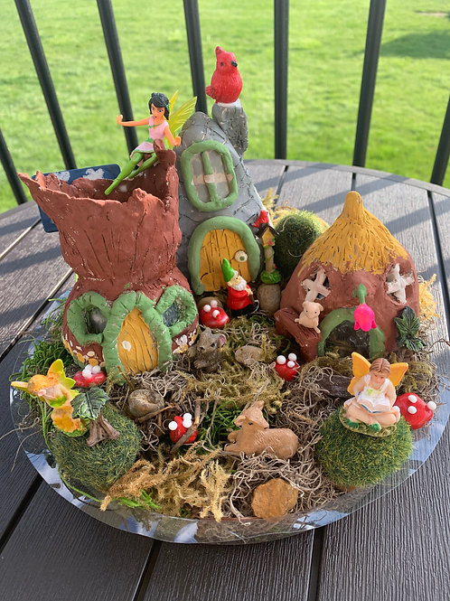 Fairy Garden/Gnome Home Arts & Crafts Kit