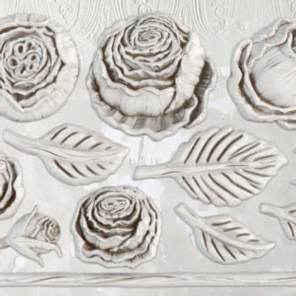"Heirloom Roses Decor Mould 6""x10"""