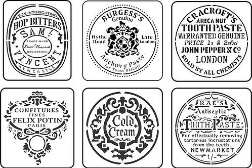 Mini Jar Label Pack