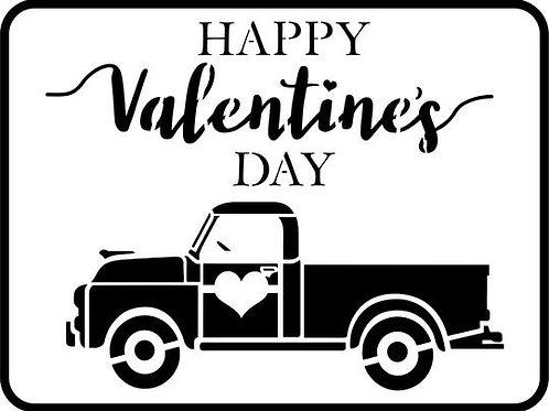 Valentine's Truck
