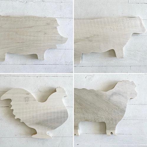 Cutting Boards (JRV Wood Animals)