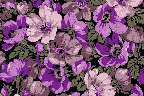 """'Purple Vintage' JRV Decoupage Paper 20""""x30"""""""