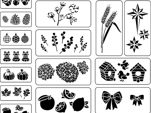 Accessory Pack Stencils