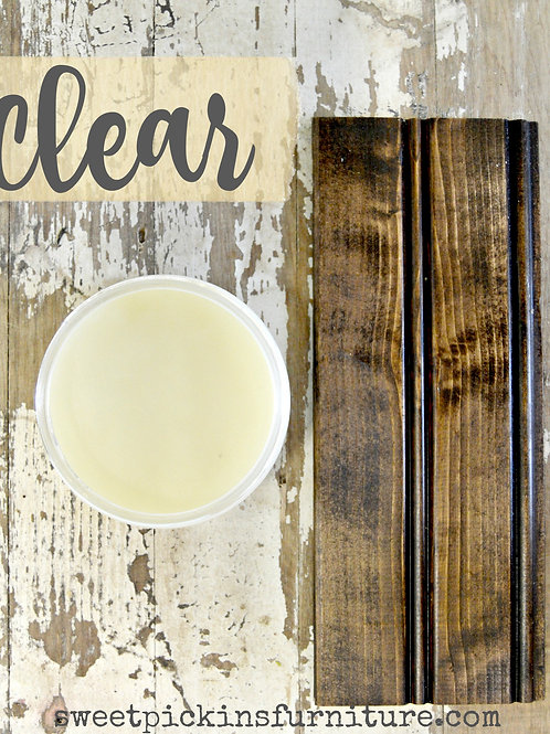 Clear Beeswax Furniture Polish