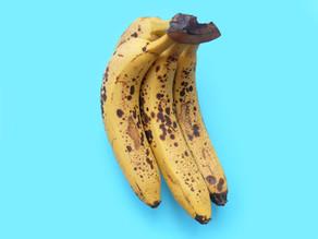 Bananenbrot aus alten Bananen backe