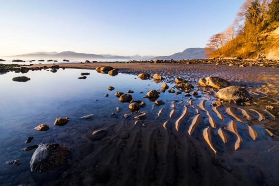 Isaac Borrego - Sunset at Wreck Beach