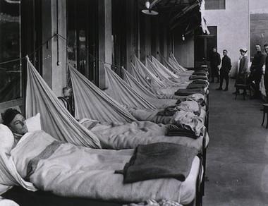 Spanish Flu 1918-19 Outdoor Overflow