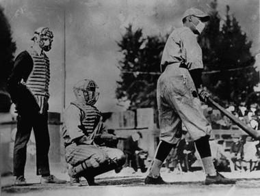 Baseball - Spanish Flu Style