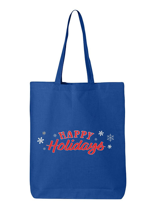 Happy Holidays Tote