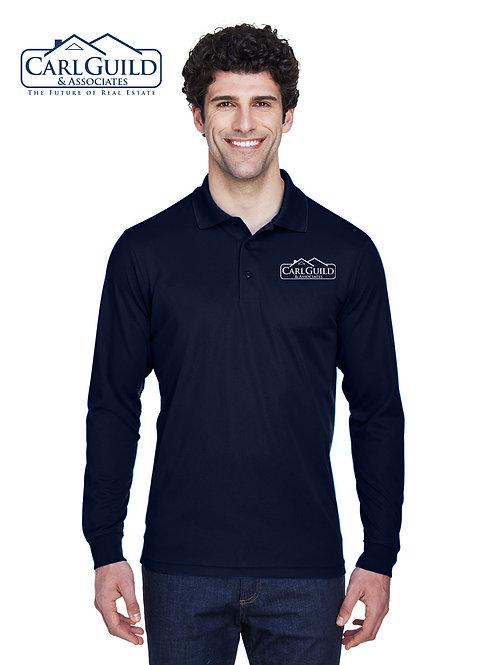 CG Long Sleeve Polo
