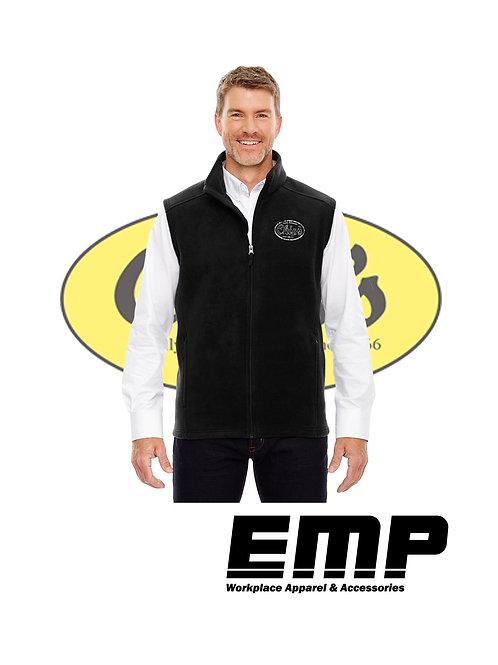 Men's Full Zip Fleece Vest