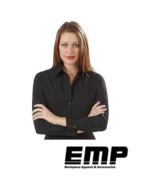 Women's Black Button Up Shirts