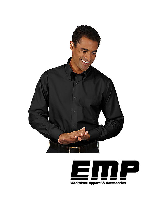 Men's Black Button Up Shirts
