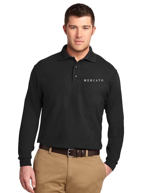 Mercato Men's LS Polo