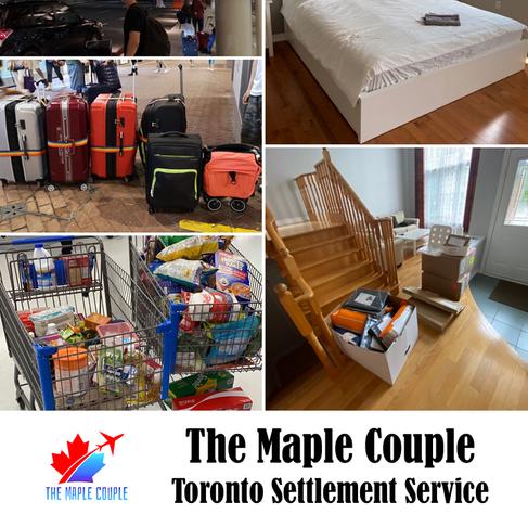 [The Maple Couple - Toronto Settlement Service : 一家大細登陸多倫多...展開Start-Up新生活!】