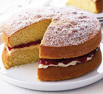 Plain Sponge Cake 440gms