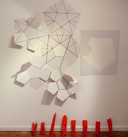 Pentagonal collage