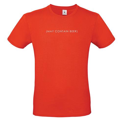 May contain beer mens tshirt