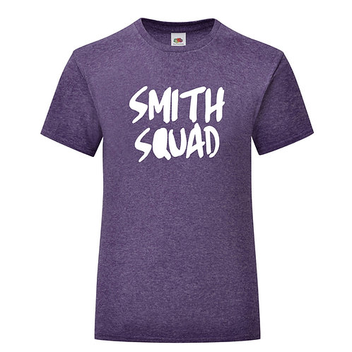 Personalised Squad Name Girls T-Shirt