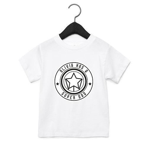 Superdad Club Toddler T-Shirts