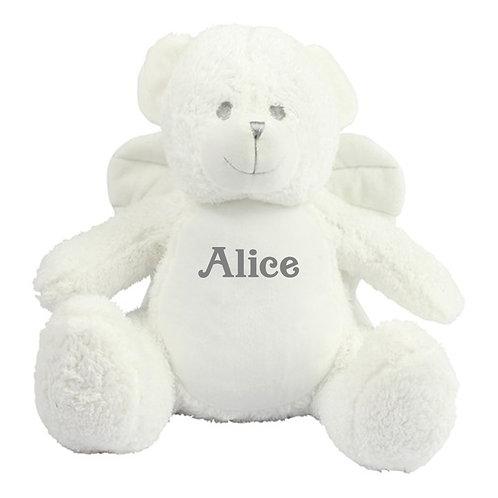 Personalised Angel Bear Teddy
