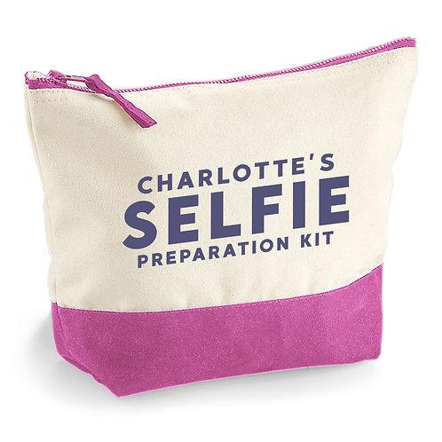 Personalised Selfie Makeup Bag