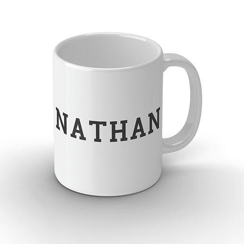Personalised Name Ceramic Mug