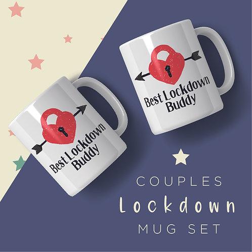 Lockdown Buddy Mug Set