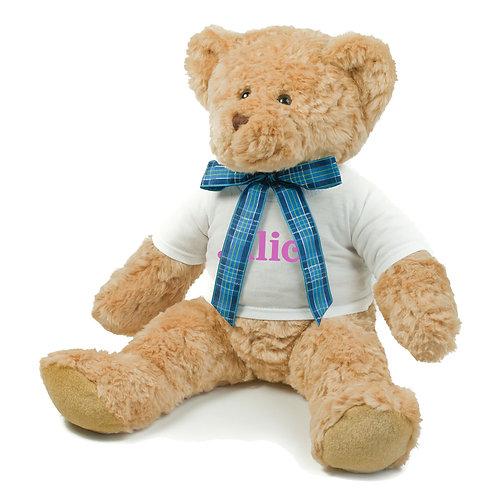 Large Bracken Teddy Bear With Tshirt