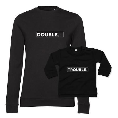 Double Trouble Mum & Child Sweatshirt Set