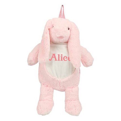 Personalised Bunny Backpack