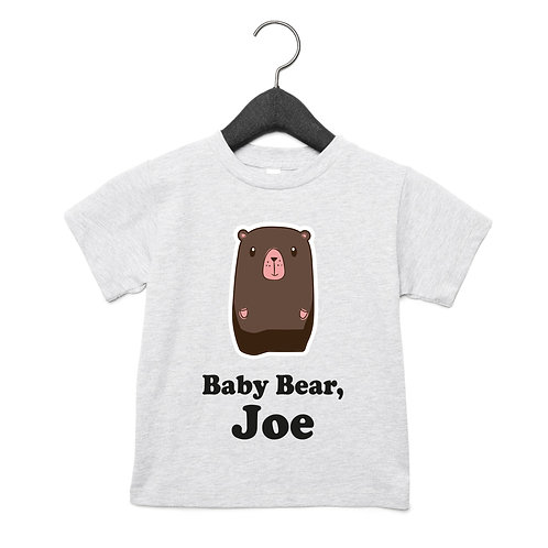 Baby Bear Toddlers T-Shirt