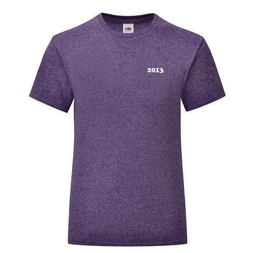 Personalised Birth Year Girls T-Shirt