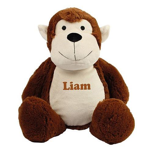 Personalised Monkey Teddy