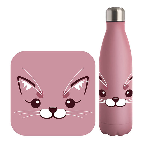 Cute Animal Matt Water Bottle
