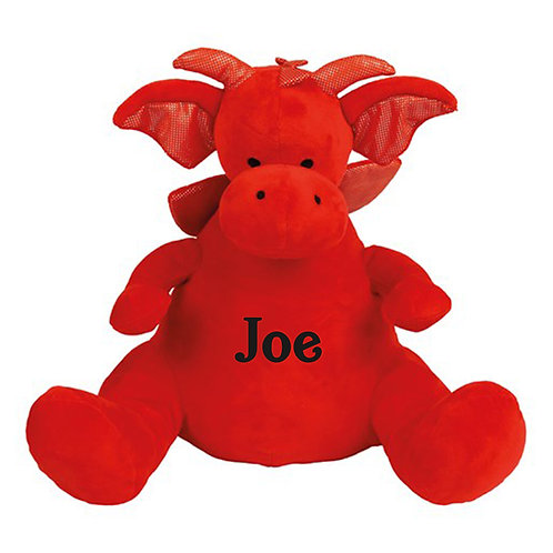 Personalised Dragon Teddy